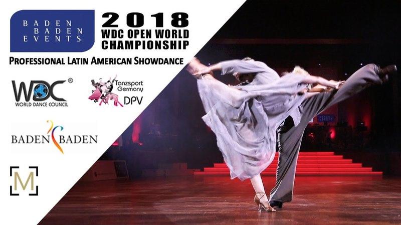 Garbuzov - Menzinger, AUT   2018 WDC Pro WCH SD LAT - Baden Baden, GER - Final