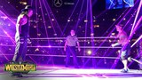 The Undertaker emerges from the darkness to accept John Cena's challenge WrestleMania 34