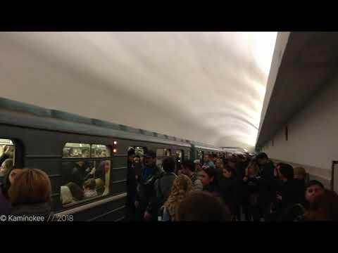 82 Сбой на Калужской Рижской линии Московского метро