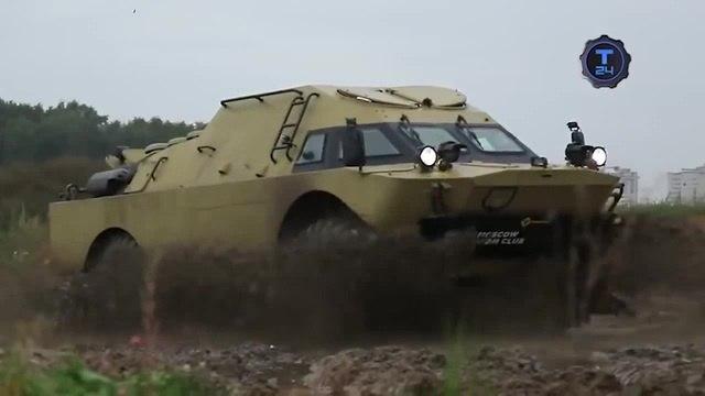 Гражданский БРДМ-2 Soviet ARV (BRDM-2) vol.1