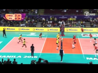 How many touches (ECZ vs FTL). LONG RALLY. DIGS SAVES. BEST Womens Volleyball Actions.