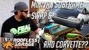 1JZ Minivan Swap and RHD Drift Corvette C3 Roofless Garage