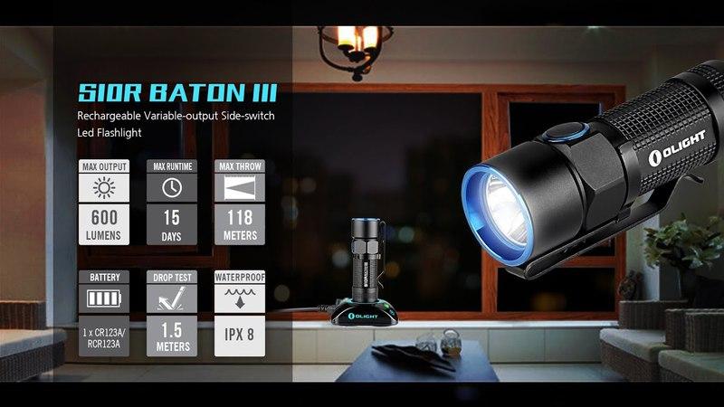 Olight S 10 R Baton 3 Обзор EDC фонаря