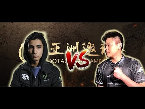 Secret Midone vs EG sumail DAC 2018 - 1x1 Event