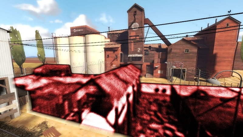 TF2 2Fort But The Middle Area Doesn't Exist