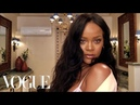 Rihanna's Epic 10-Minute Guide to Going Out Makeup   Beauty Secrets   Vogue