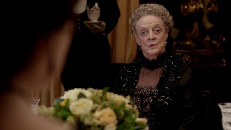 Downton abbey  3х07  вдовствующая графиня Грэнтэм