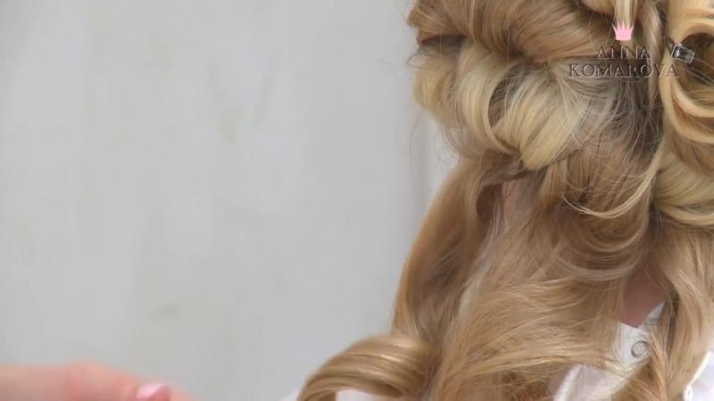 Мальвинка Wedding Hairstyle Свадебная прическа