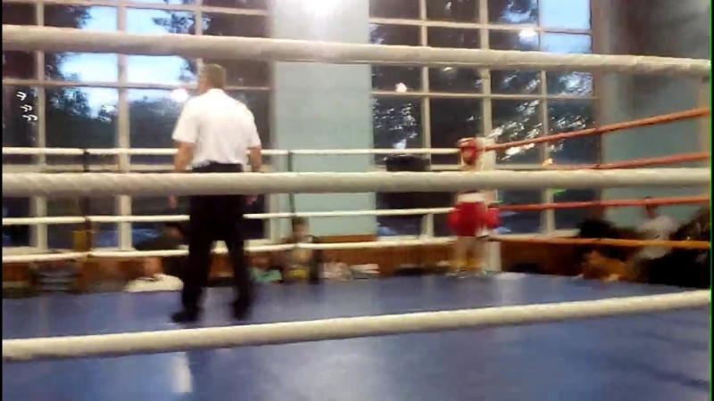 Соревнования по боксу, Ростовская область г. Аксай. Красный угол