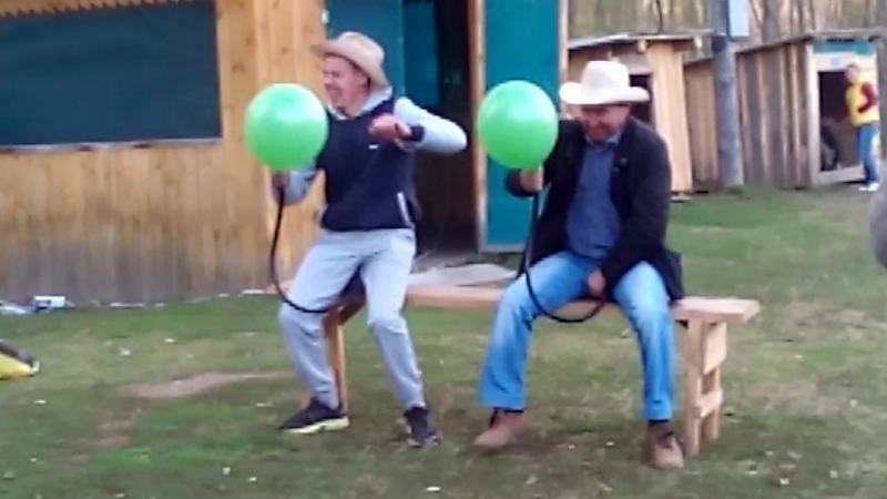 день рождения Тани, конкурс ковбои