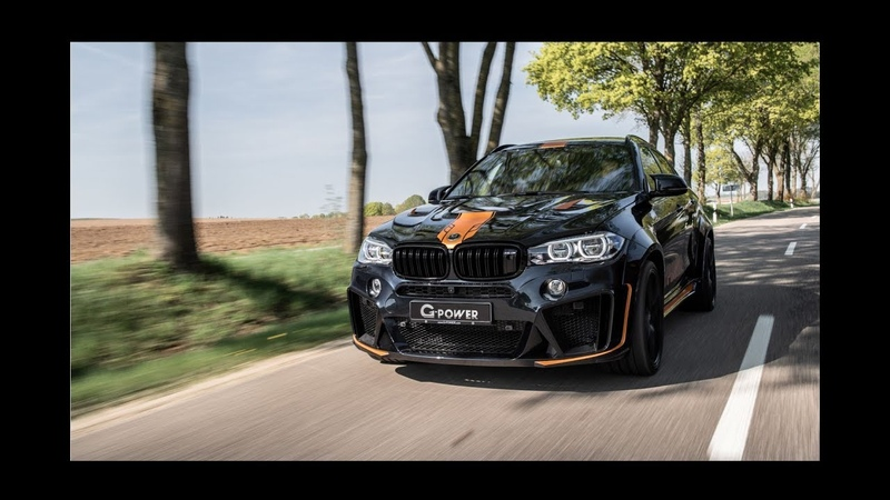 G-POWER X6 M TYPHOON - DER ULTIMATIVE POWER SUV-COUPE MIT 750 PS