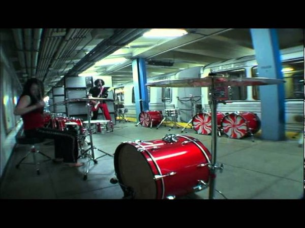 The White Stripes - The Hardest Button to Button Official Video HQ