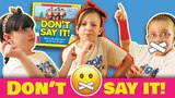 DON'T SAY IT!! Kids Toy Challenge, GiggleBox Sisters