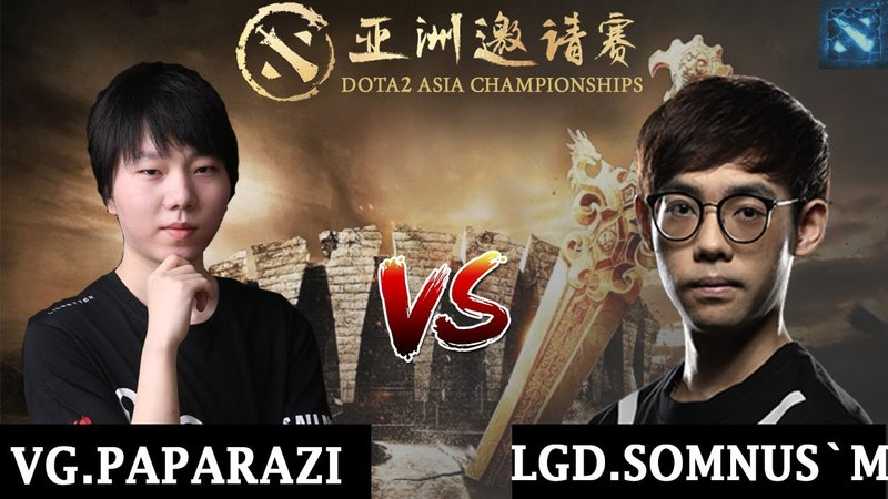 VG.Paparazi vs LGD.Somnus`M | 1 v 1 Solo Mid | DAC 2018 Major | 12 | 5.04.2018