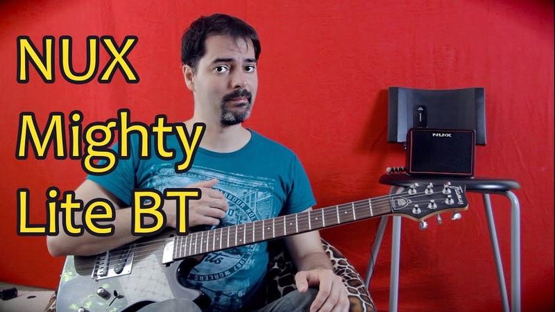 Портативная гитарная колонка усилитель NUX Mighty Lite BT
