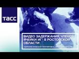 Видео задержания членов ячейки ИГ в Ростовской области