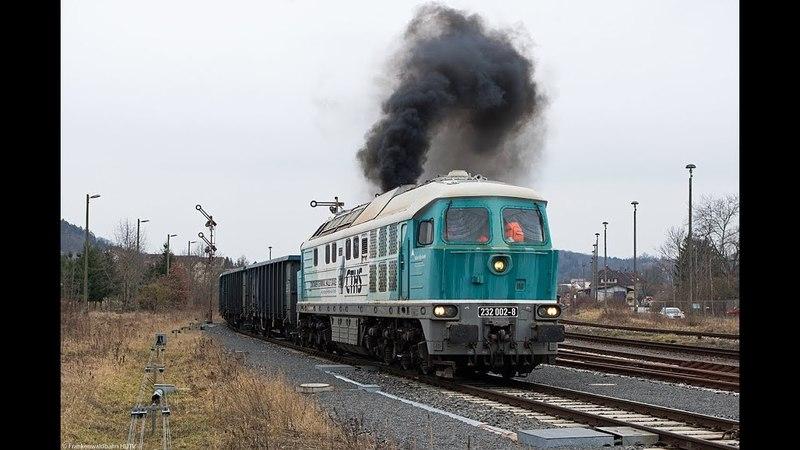 Güterzüge auf der Frankenwaldbahn - CTHS Ludmilla, mgw Vectron, Kaiser Franz uvm.