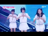 PRODUCE 48 1:1 eye contact | Ичикава Манами (AKB48) - Gfriend Love Whisper Team 1 group battle