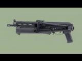 Самые необычные инкарнации автомата Калашникова. Пистолет-пулемет ПП-19 Бизон