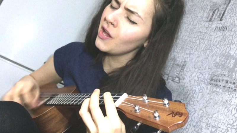IVANOVA MARGO - Sick Tired (Anastacia ukulele cover)