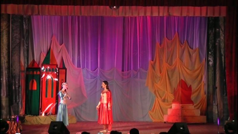 Мюзикл Две дочери короля, часть 1
