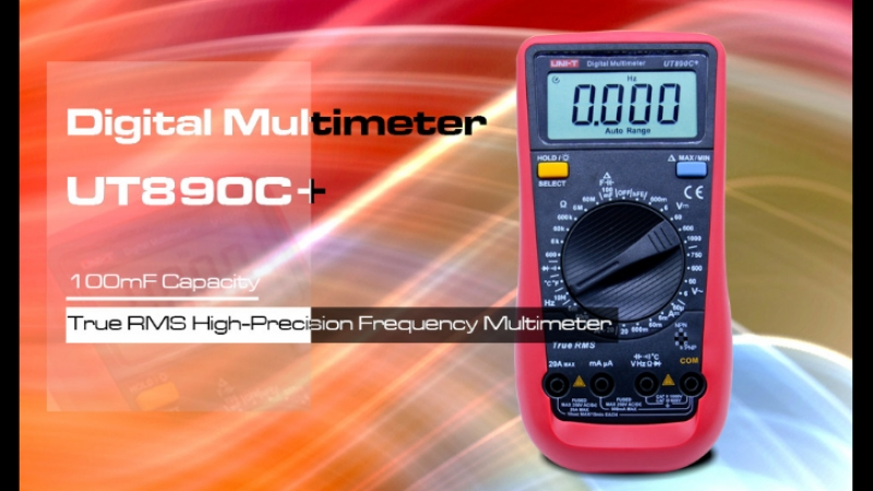 UT890C Мультиметр от UNI-T
