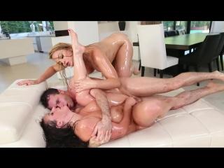 Alexis Texas, Angela White [Big Tits, Big Ass, Oiled]