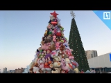 Плюшевая елка и парад снеговиков