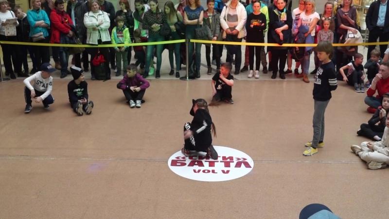 СИТИ БАТТЛ 5 BEST BREAK DANCE BABY BATTLE 1X1 BGIRL ВОЛОДИНА МАРУСЯ ws BBOY ДАНИЛИН ЕЛИСЕЙ (win)