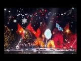 MBAND и Вера Брежнева - Бриллианты  (Главный Новогодний концерт) 31.12.2017