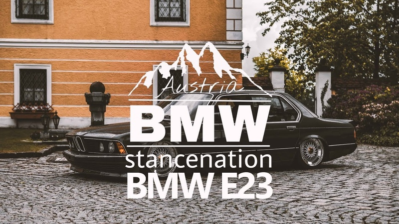 Bagged BMW E23 | JG Media | BMW Stancenation Austria