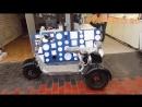 Электроскутер Трицикл City Coco трехколесный скутер Обзор Voltreco