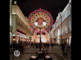S7 Airlines | Огни Москвы