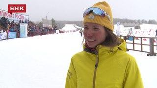 Анастасия Власова - Чемпионат России по лыжным гонкам 2018 года