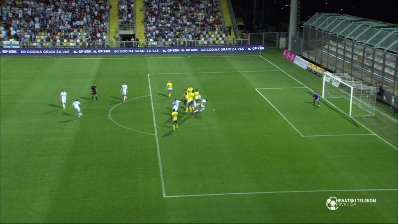 Rijeka - Inter-Zapresic 5-1, sazetak (HNL 34. kolo), 08.05.2018. Full HD