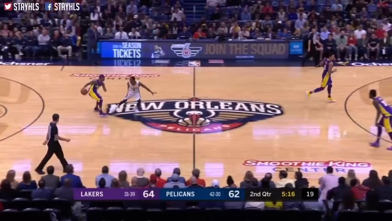 Los Angeles Lakers vs New Orleans Pelicans Full Game Highlights _ March 22 _ 201
