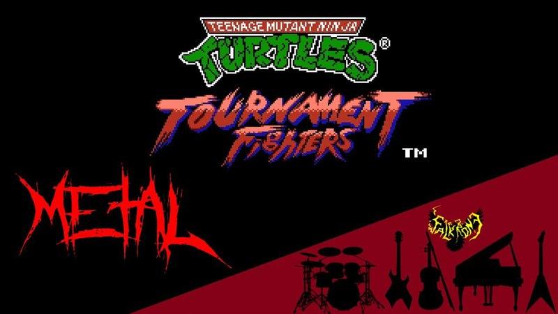 Teenage Mutant Ninja Turtles: Tournament Fighters OST (NES) 【Intense Symphonic Metal Cover】
