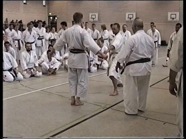 Jion Go Kata kumi waza von Mesiter Taiji Kase 1997