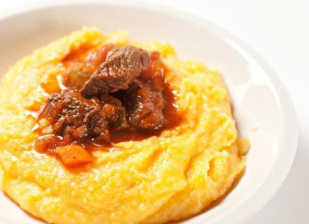 Кукурузная каша: рецепт с мясом и овощами