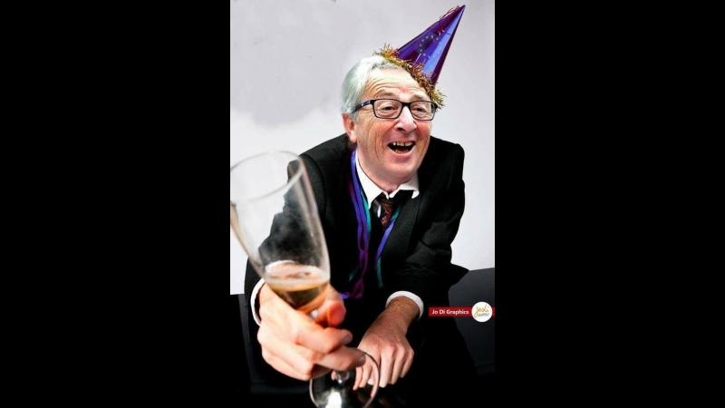 Le vieil ivrogne Juncker à la tête de l'UE totalement torché au sommet de l'Otan vidéo Démocratie Participative