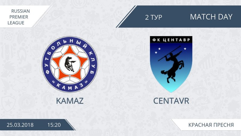 AFL18. Russia. Premier League. Day 2. Kamaz - Centavr.