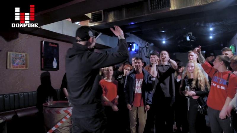 Хип хоп вечеринка от DONFIRE Видео отчет за 13 апреля Пятница