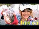 Cô gái xinh đẹp đi bắt cá - Cuộc sống quê tôi 16 | Beautiful girl to catch fish - Life in my country