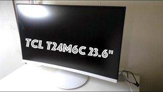 Изогнутый монитор TCL T24M6C 23.6 inch (Игровой ПК)