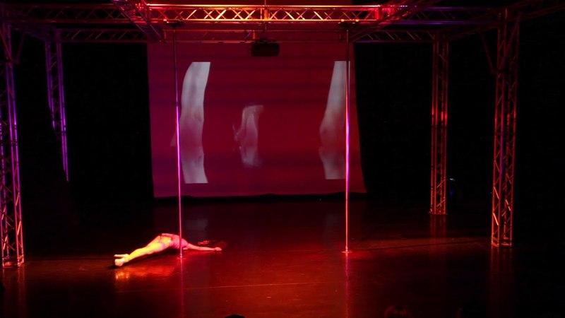 Pole Theatre Hungary 2018 IRYNA MANIVA Semi Pro Classique winner
