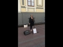 Уличный концерт Камиллы Лысенко