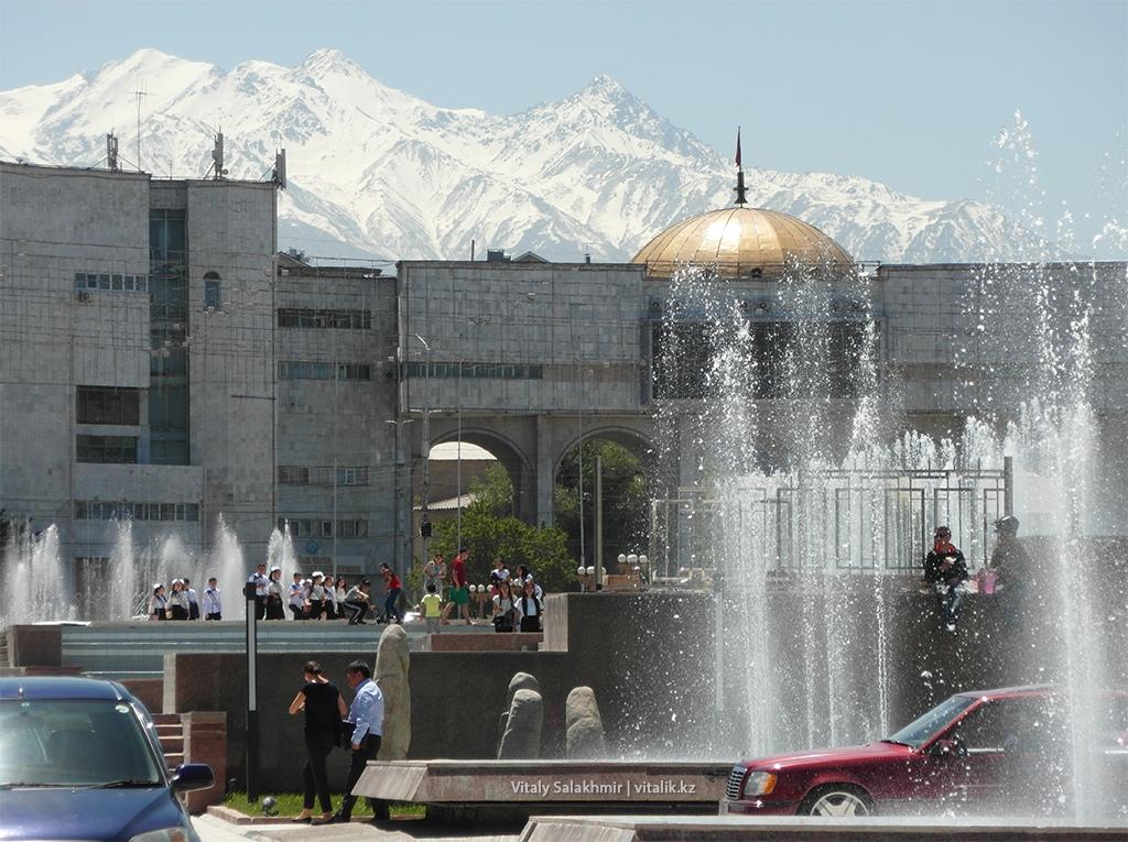 Горы Ала-Тоо Бишкек Кыргызстан