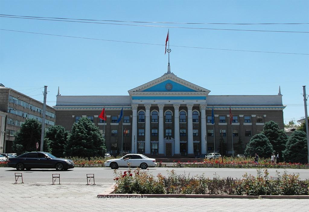 Здание в Бишкеке