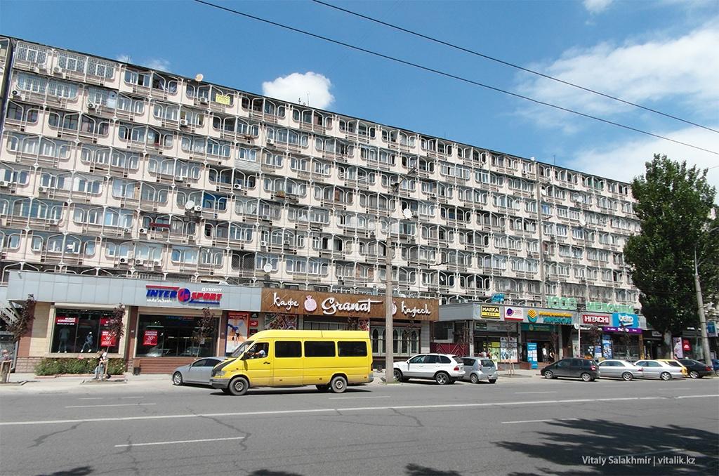 Здание на Чуй, Бишкек 2018