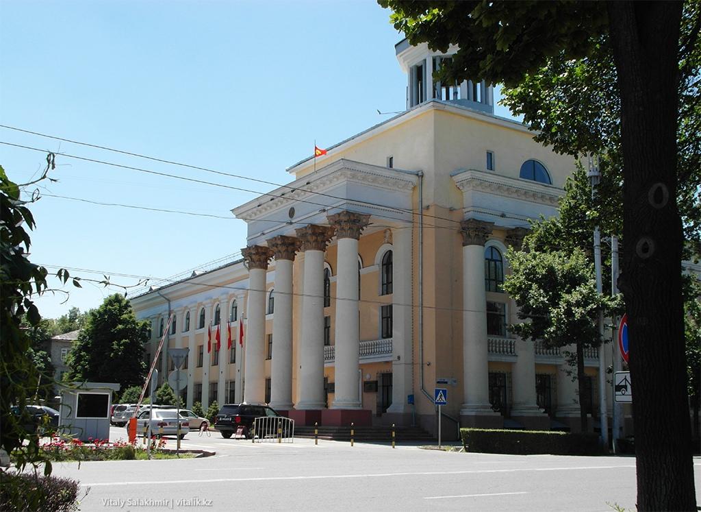 Здание Бишкек 2018